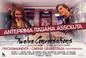 12 Conversations Premiere Italiana FB Cover 2018